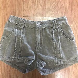 Brushed Corduroy Shorts
